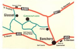 Greenpark Leisure map