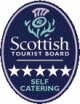 Scottish Tourist Board 5 star self catering rating